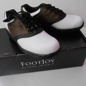 NIB Junior FootJoy Golf Shoes Size 5 M Style 45020